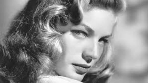 Lauren Bacall, is anyone cooler? -