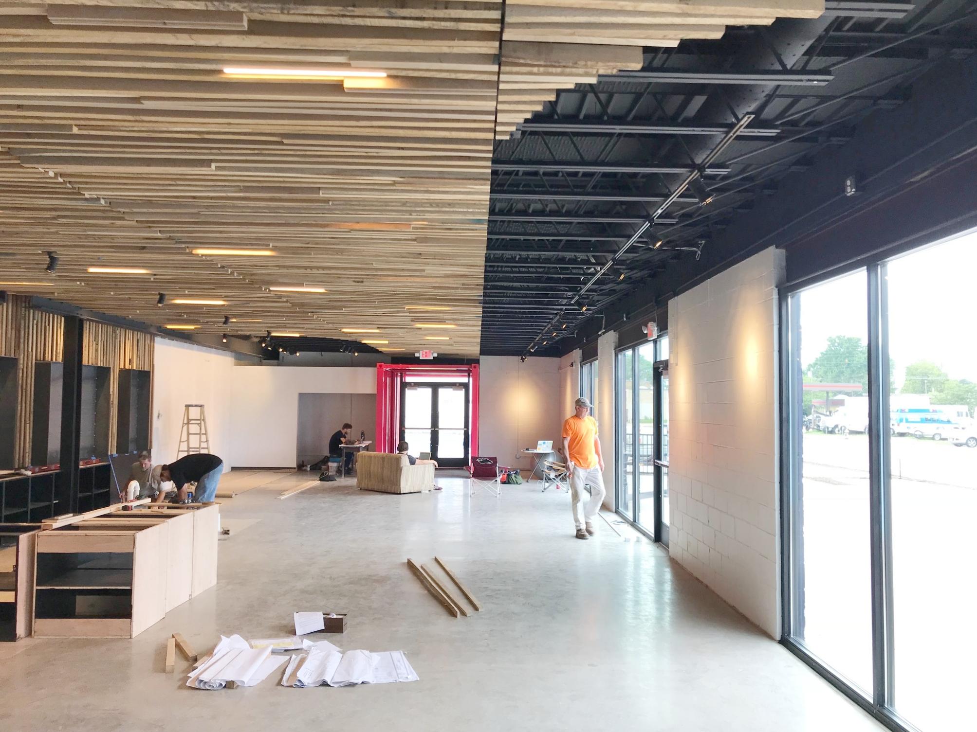 New storefronts along Vandeventer -