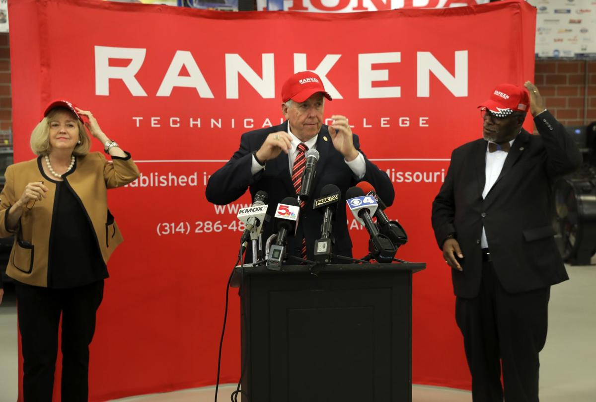 There's a good reason why Governor Parson (center), St. Louis Mayor Krewson (left) and Kansas City Mayor Sly James (right) visited Ranken Technical College in St. Louis: it's a happening place! JEMA is Ranken's partner in creating a new east campus. Exciting times! -