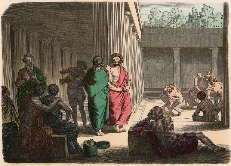 The Agora of ancient Greece. Is this Western Civilization's birthplace? -