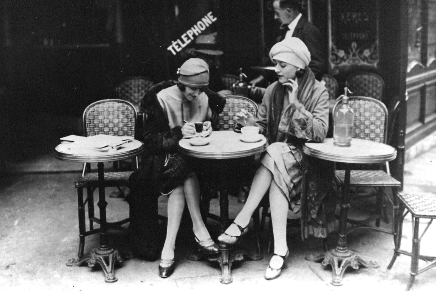 The French cafe: did the Existentialism of Sartre, de Beauvoir, and Camus come from this place? -