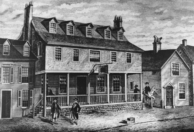 The American Tavern: did Jefferson, Madison and Hamilton decide to declare independence here? -