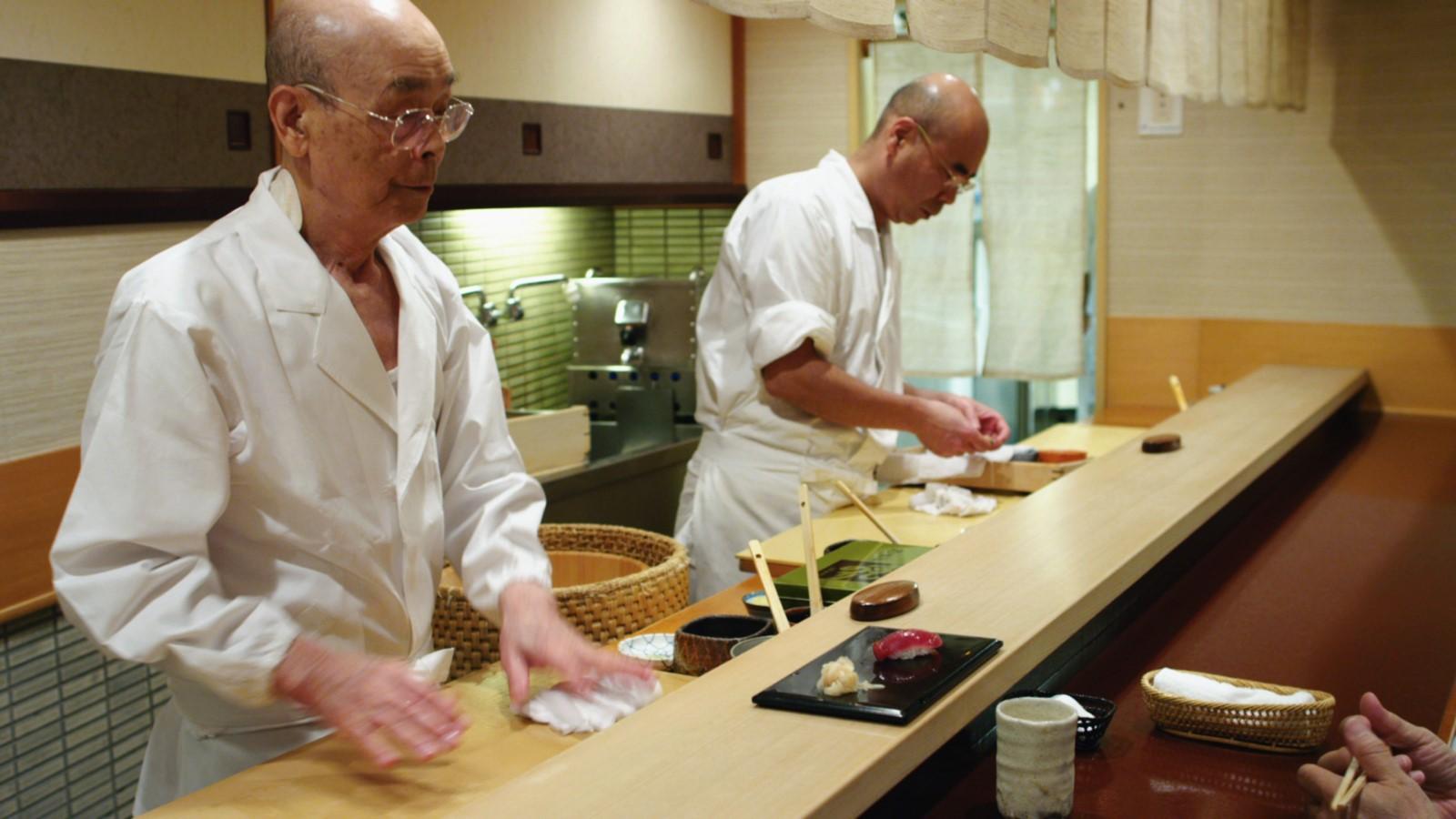 Jiro Ono, the creator of Sukiyabashi Jiro, is the greatest sushi chef in the world. His restaurant seats 9 people.