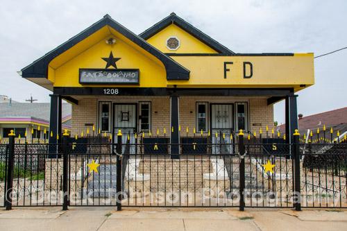 Fats Domino Home Studio