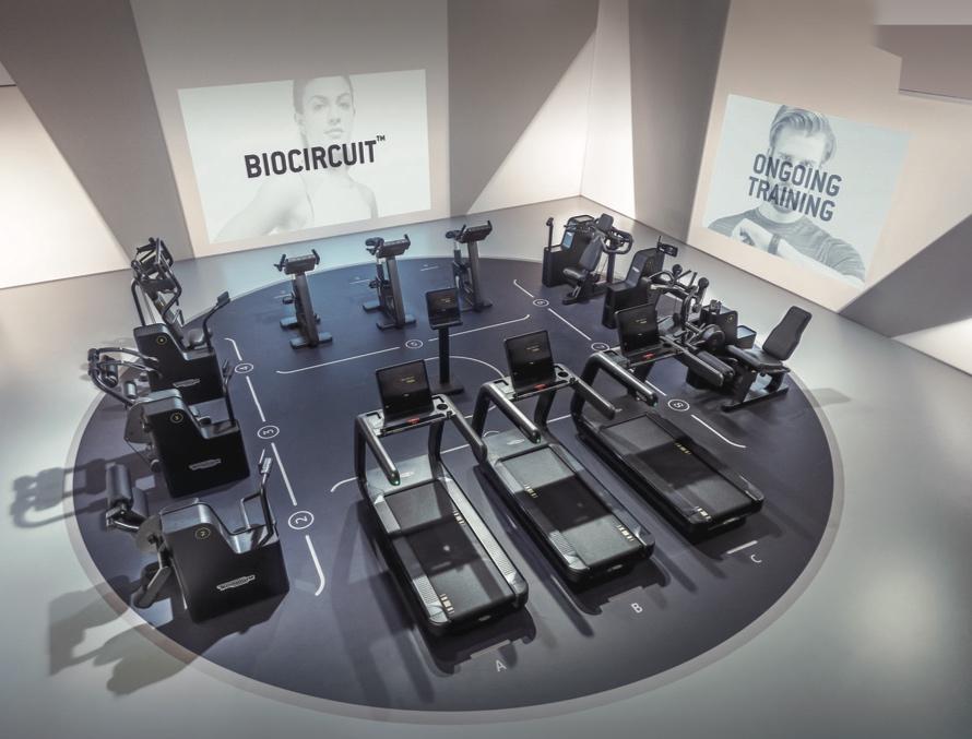 Biocircuit training de Technogym