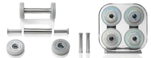 Wellness Rack - Mancuernas de diseño.