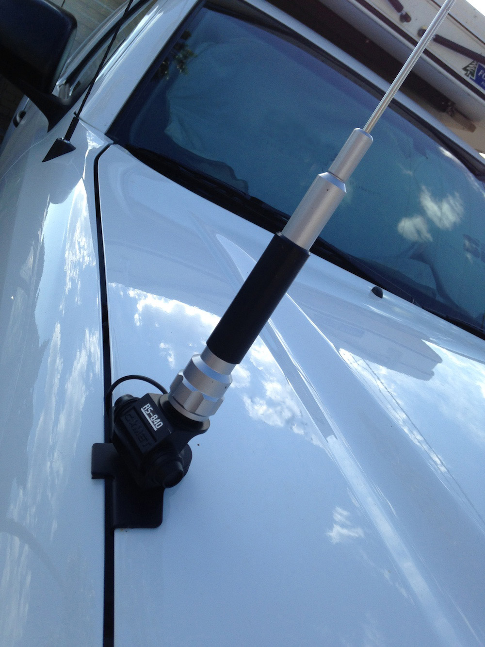 RS-840 Trunk//Hatch Mount w//o cable
