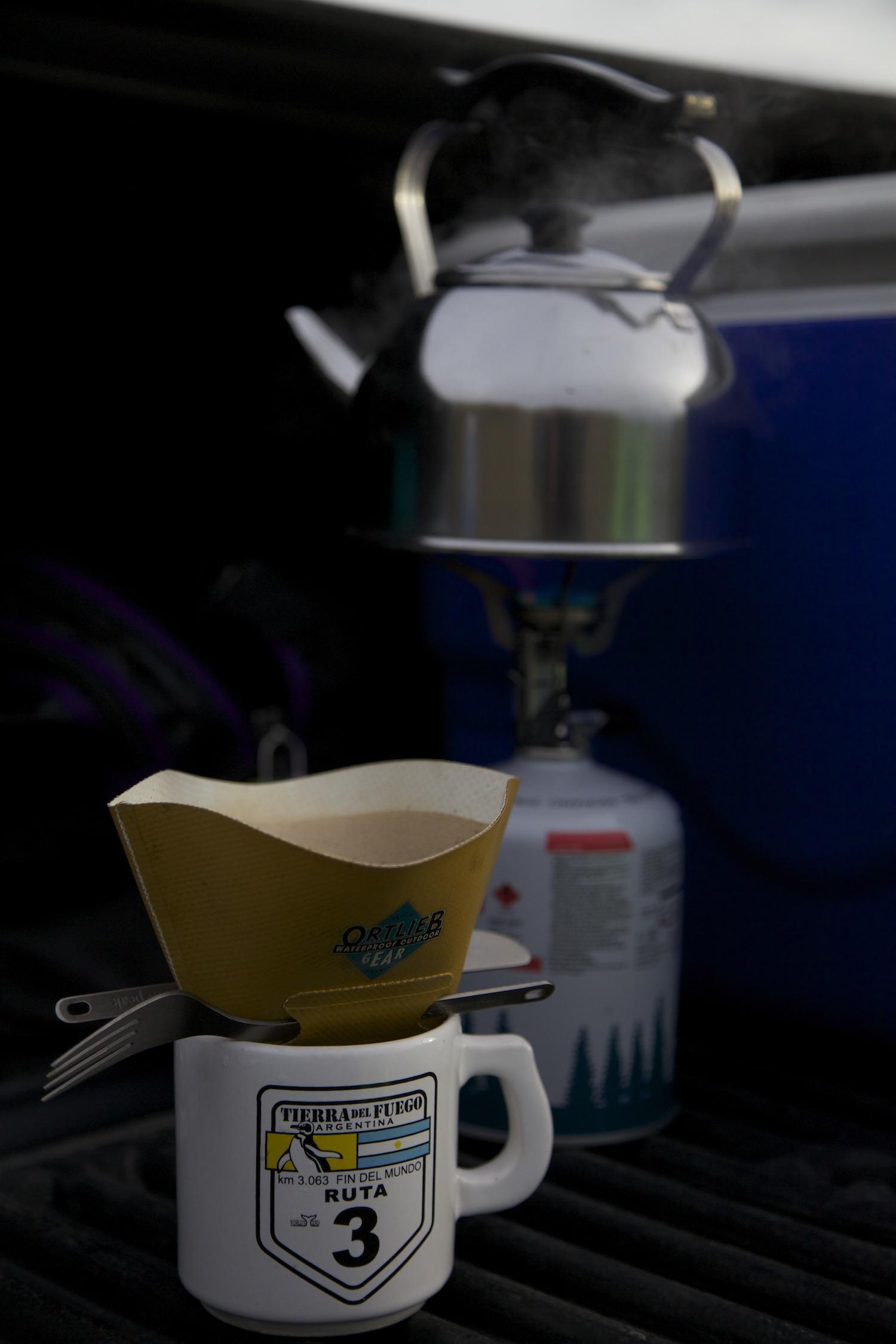 Tacky tourist mug, $15 kettle