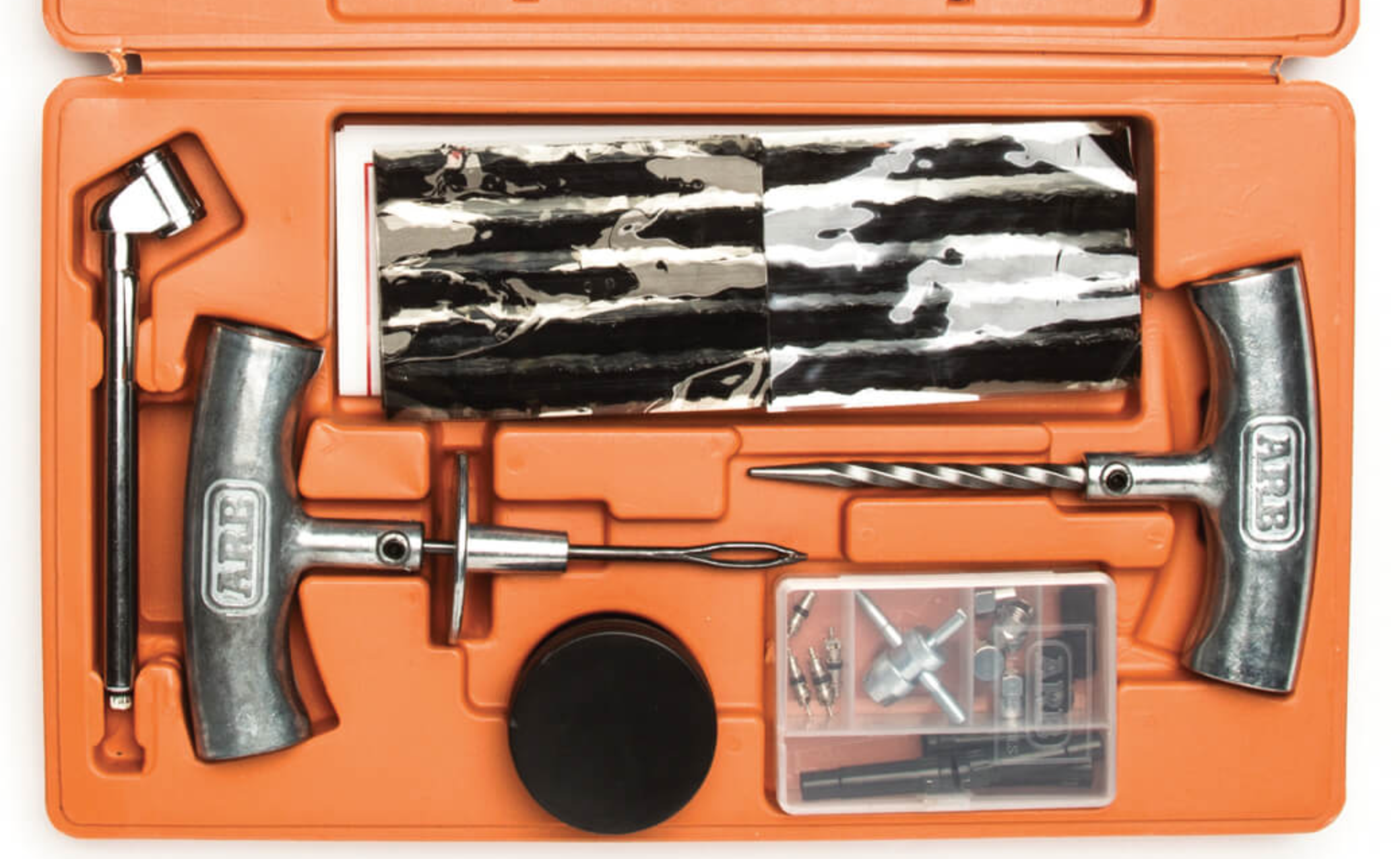 The ARB Speedy Seal kit includes a proper metal-handled reamer and plug inserter.