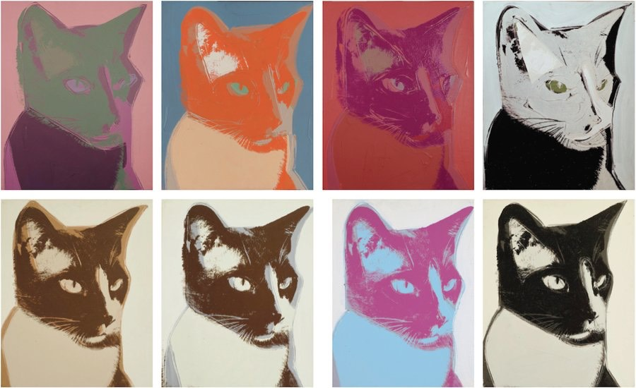 Paintings by Andy Warhol