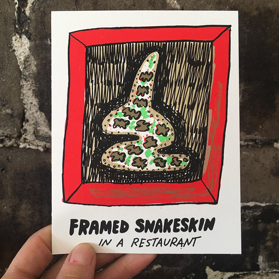 The final print for Postcard Club #4