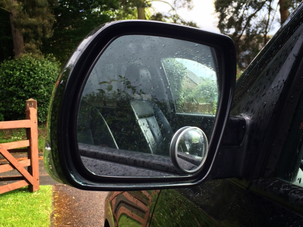 Magic mirror which means you can now overtake at will. Without this, when overtaking you will cut people up. They will get angry and you will get shot by a crazy farmer in a 30 year old Renault 4.