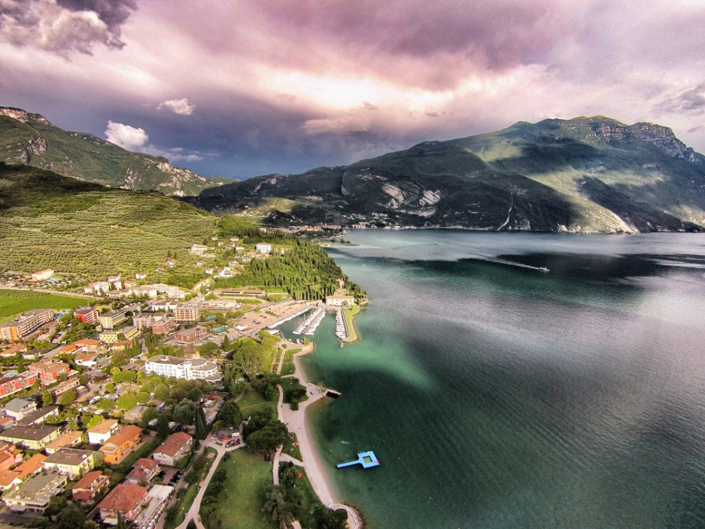 Lake Garda from Riva