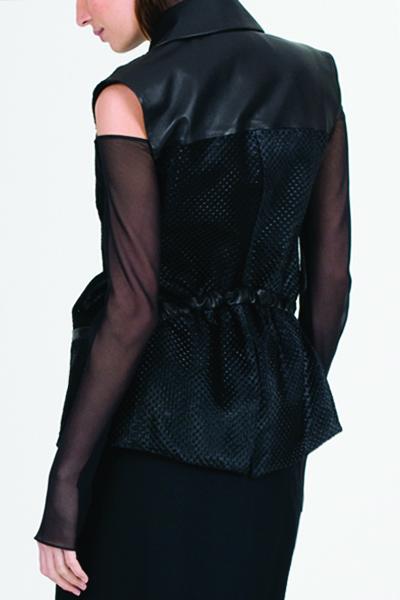 WALDMANN Adjustible Embossed Calfhair jacket