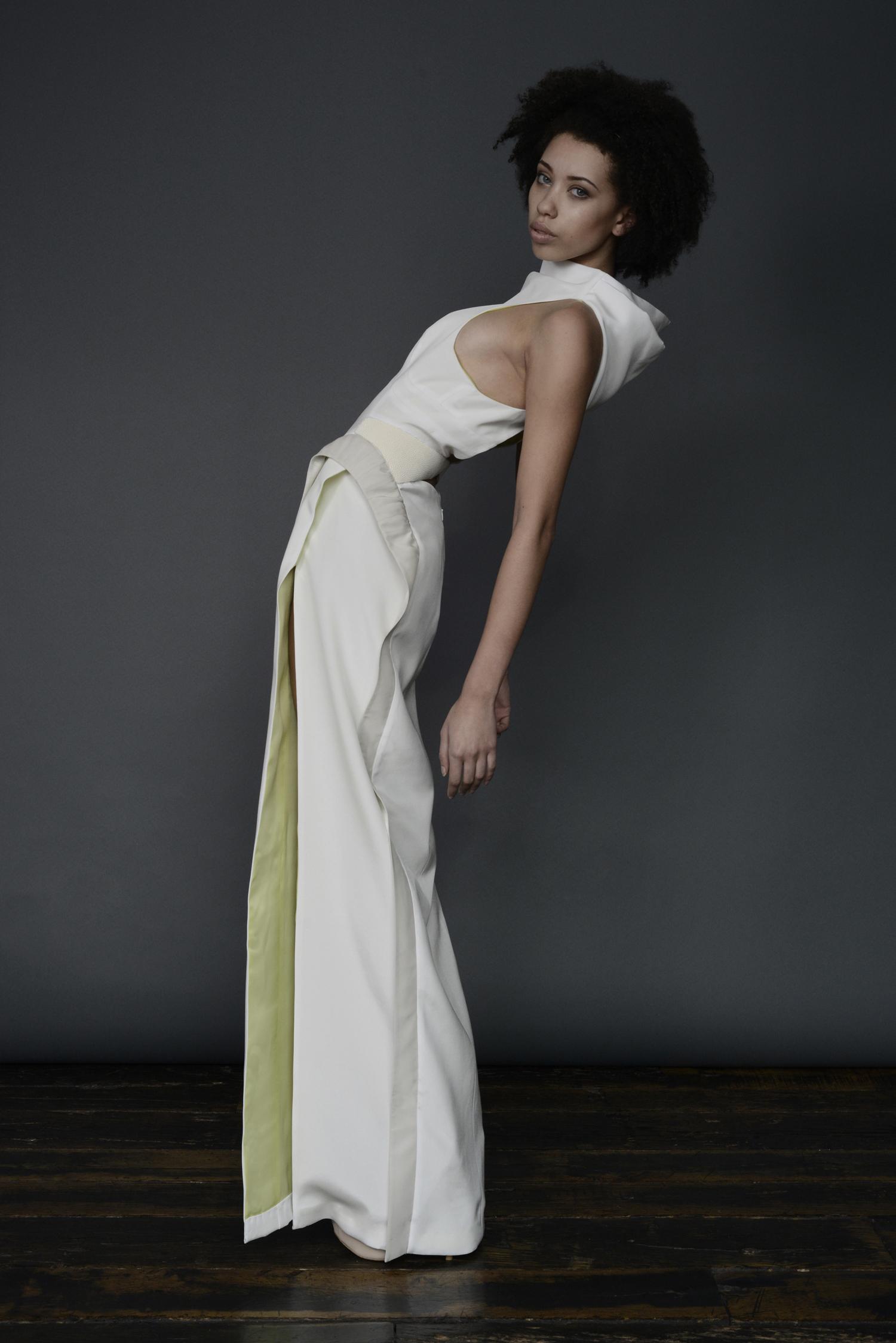 WALDMANN S/S COUTURE LOOK - Memento Mori Gown