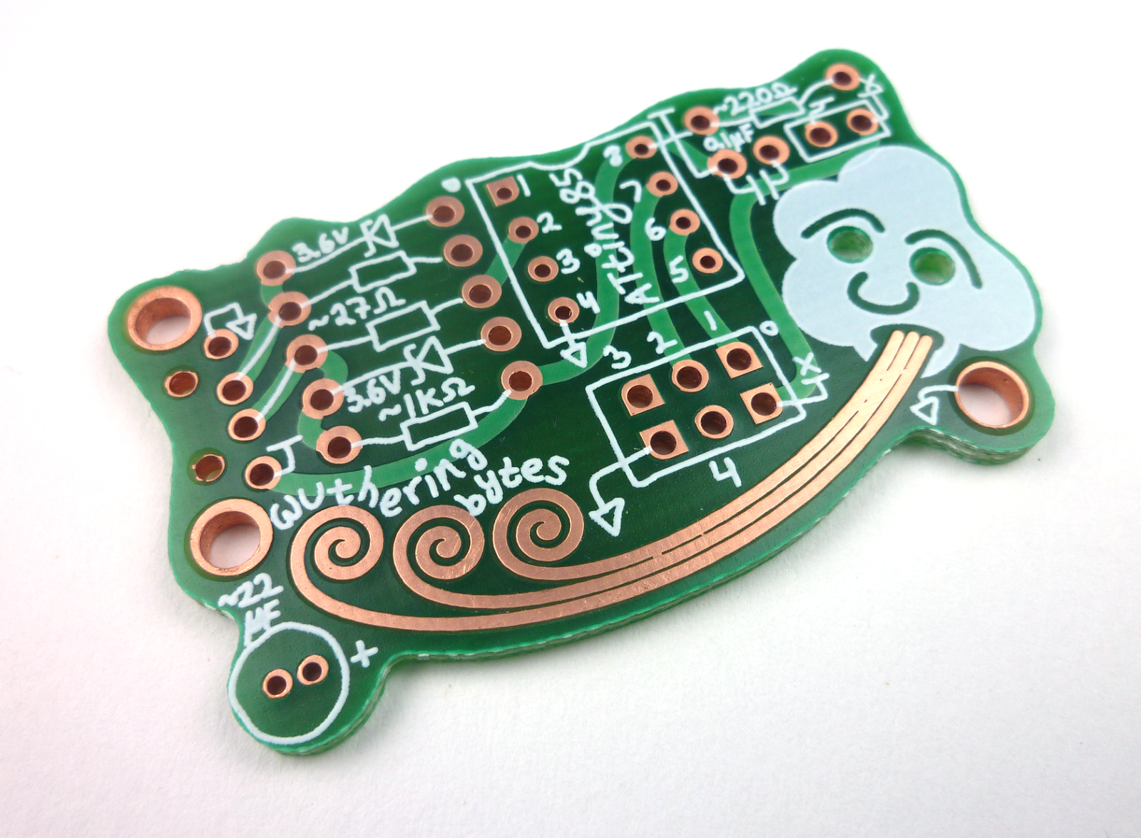 The 'wuther', lovingly manufactured by P+M Services for the  Wuthering Bytes  workshop