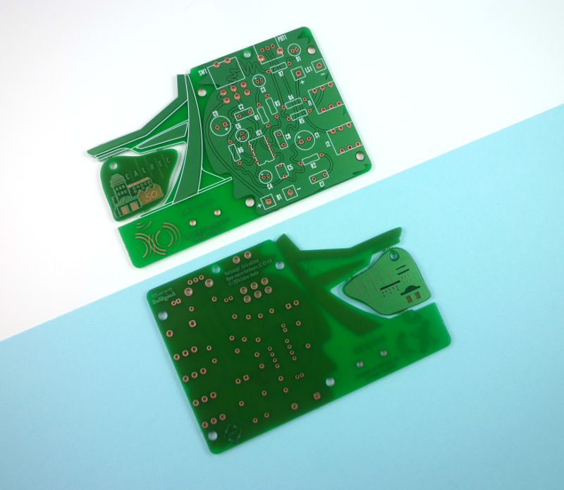 Front and back of the board.