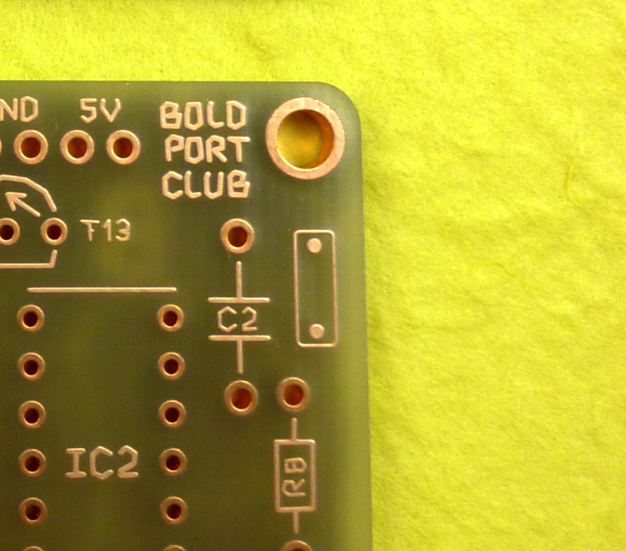 Symbol on the solder side