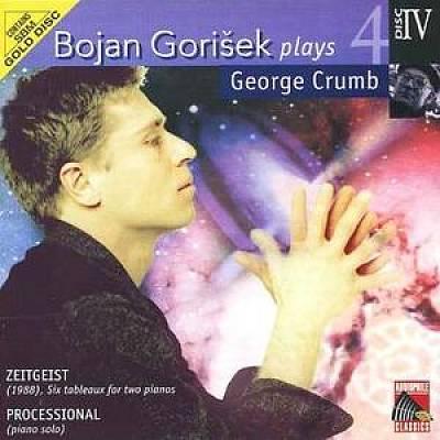 Bojan Gorisek plays George Crumb (4 CDs) — Volume 4