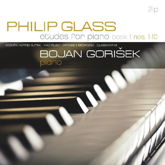 Philip Glass —Etudes for Piano Book 1 Nos. 1-10 |Vinyl 2LP