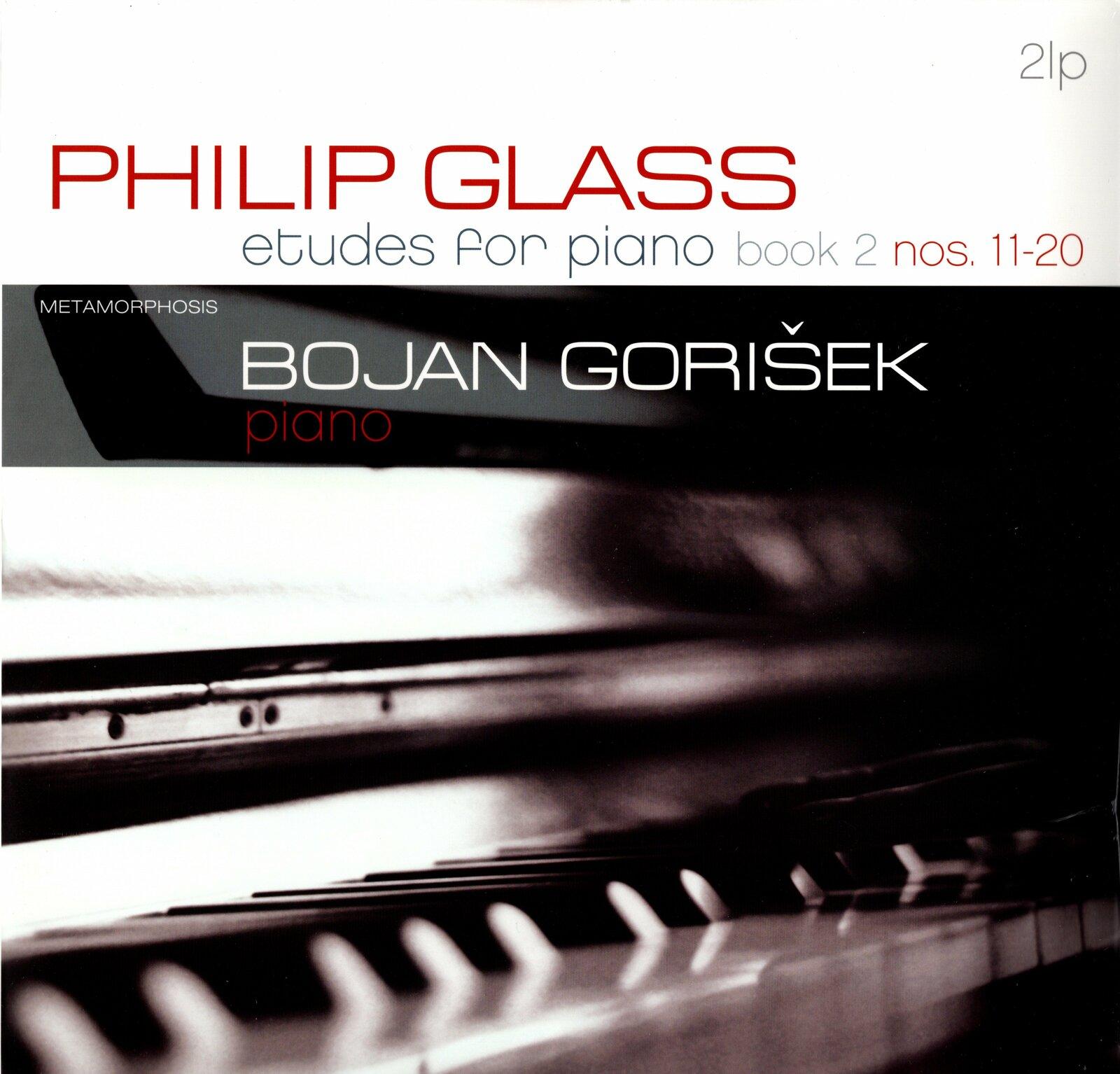 Philip Glass —Etudes for Piano Book 2 Nos. 11-20 |Vinyl 2LP