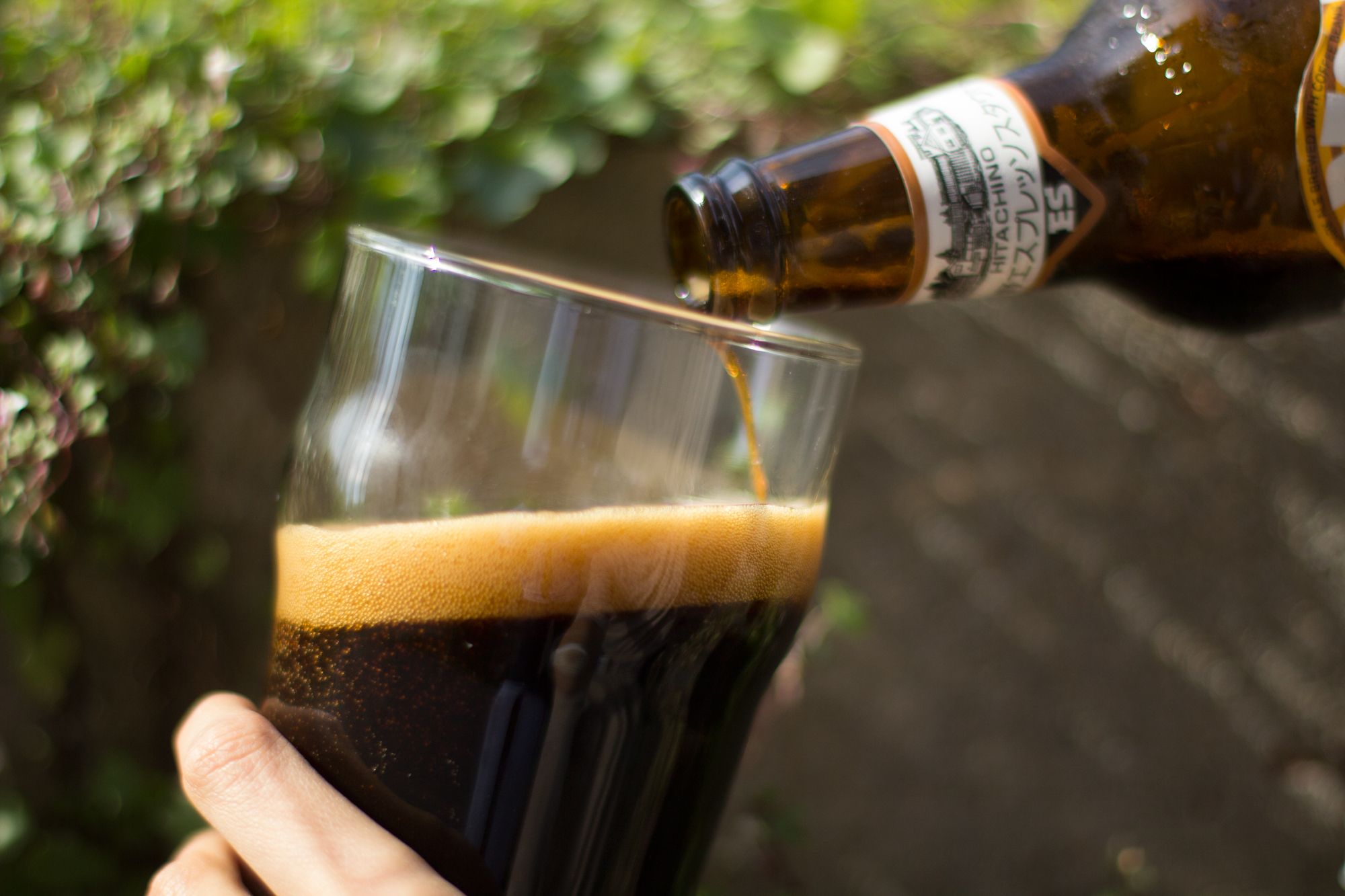 Hitachino Nest: Espresso Stout has an ABV of 7.5% and pours very smooth.