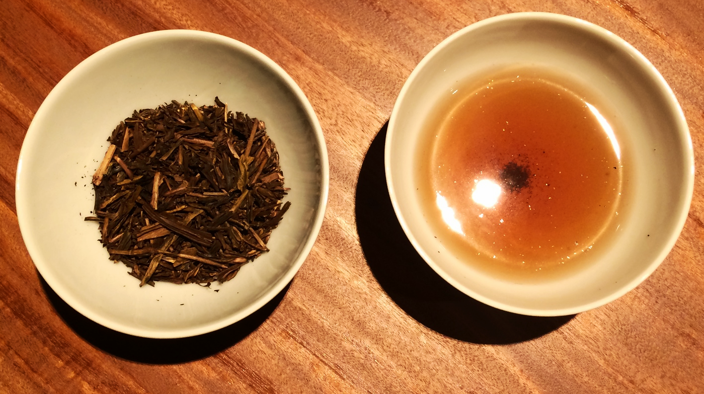 Hojicha has a toasty, comforting aroma and lower caffeine amount. Try with desserts after an evening meal.