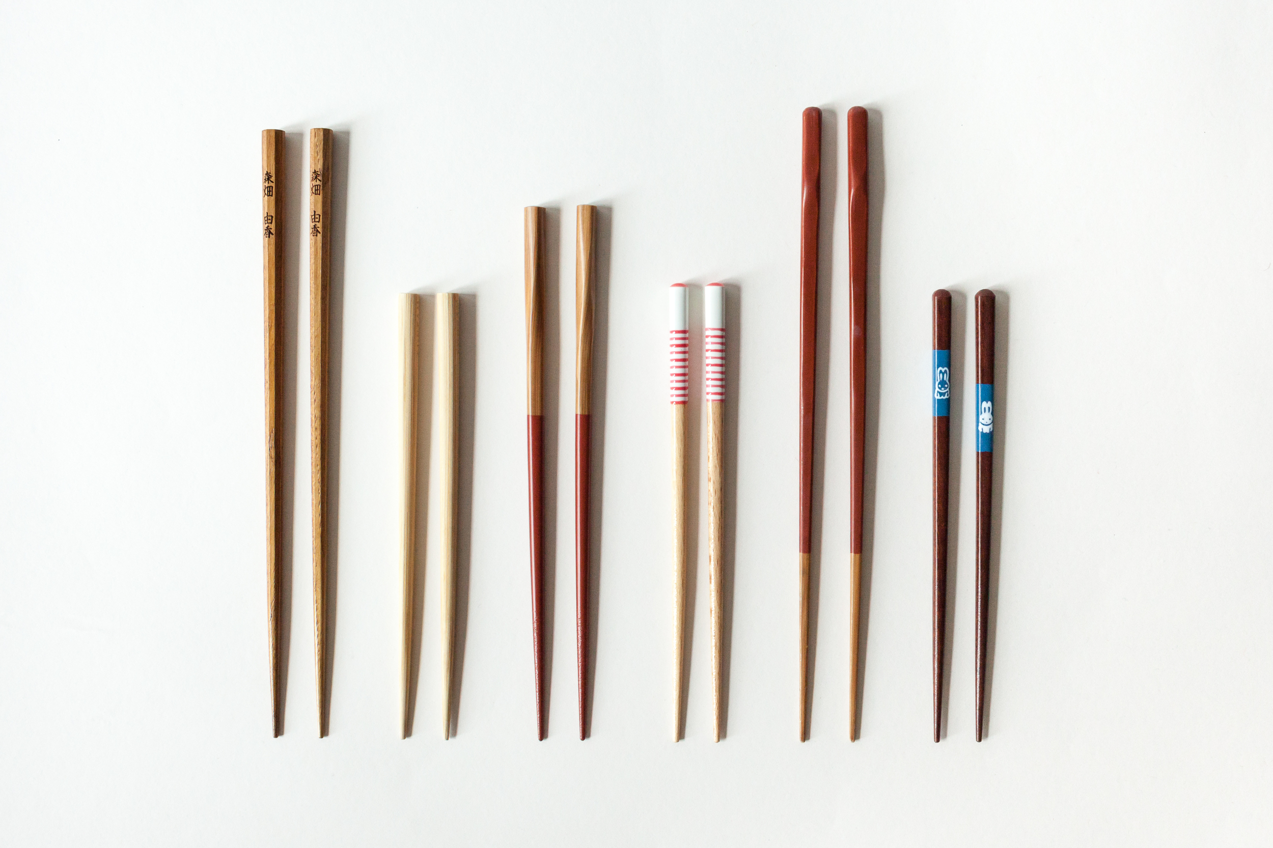 Our founder Yuka's family chopsticks.
