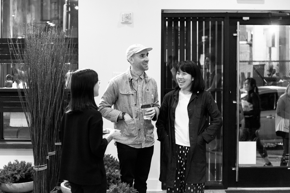 Doug Johnston and Tomoe Matsuoka