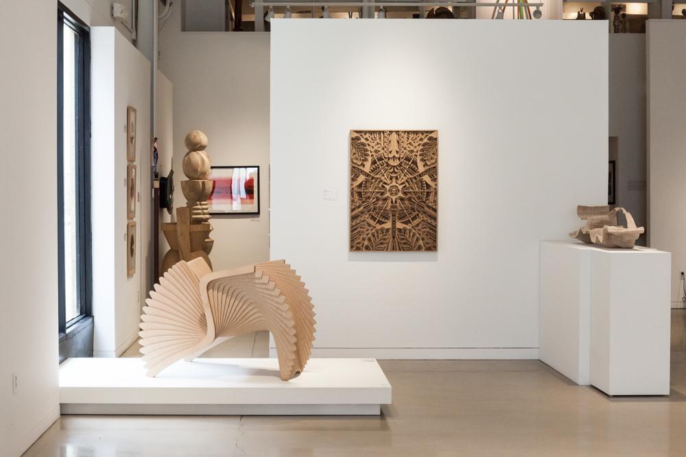 On left:  Alexander White,  Monroe Chair,  2016.