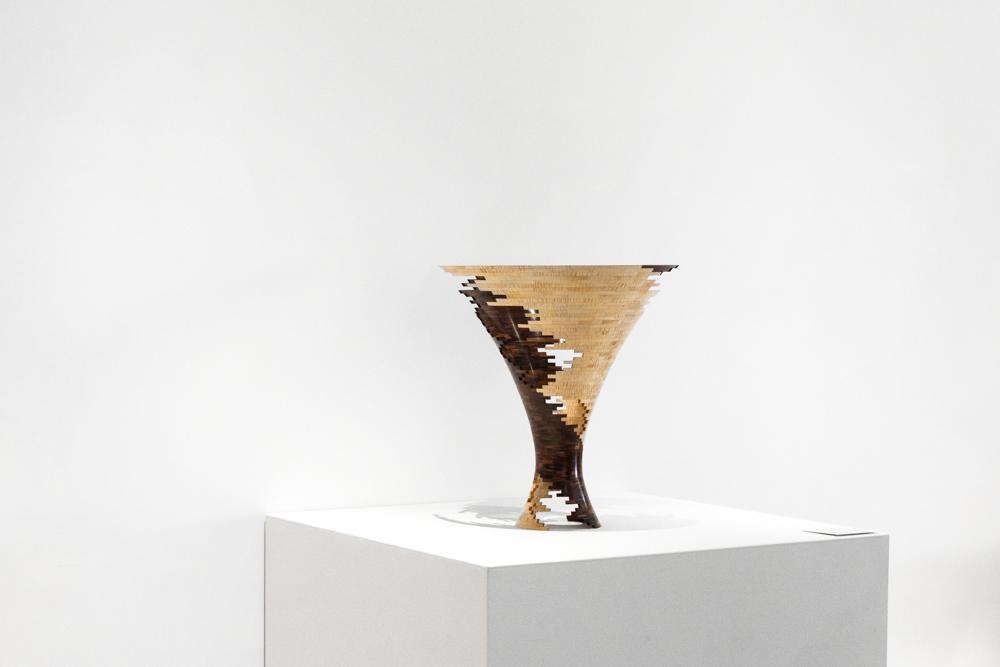 Bud Latven,  Spiral Impact 3 , 2007