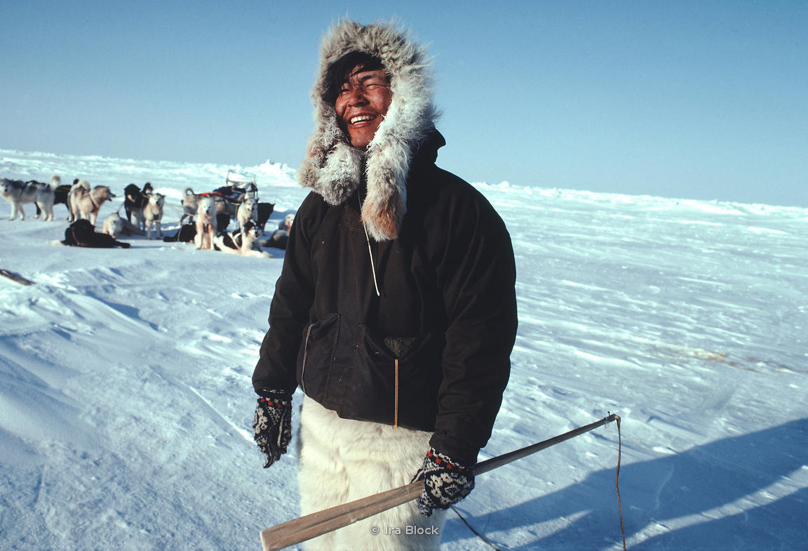 Uemura, captured by National Geographic photographer Ira Block at the North Pole