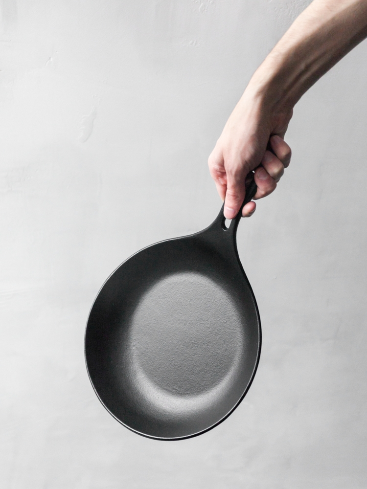 Iwachu's Cast Iron Pan is perhaps the best investment you'll make for your kitchen.
