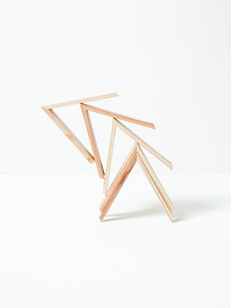 Our  Tsumiki Stacking Blocks  are from musician  Ryuichi Sakamoto's  forest conservation organization  More Trees . They are made from wood harvested from necessary  tree thinning  on the island of Japan.