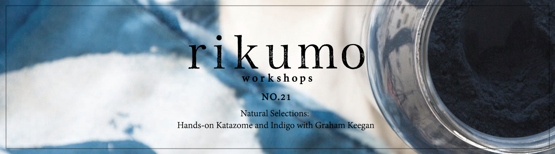 Rikumo Workshop Graham Keegan