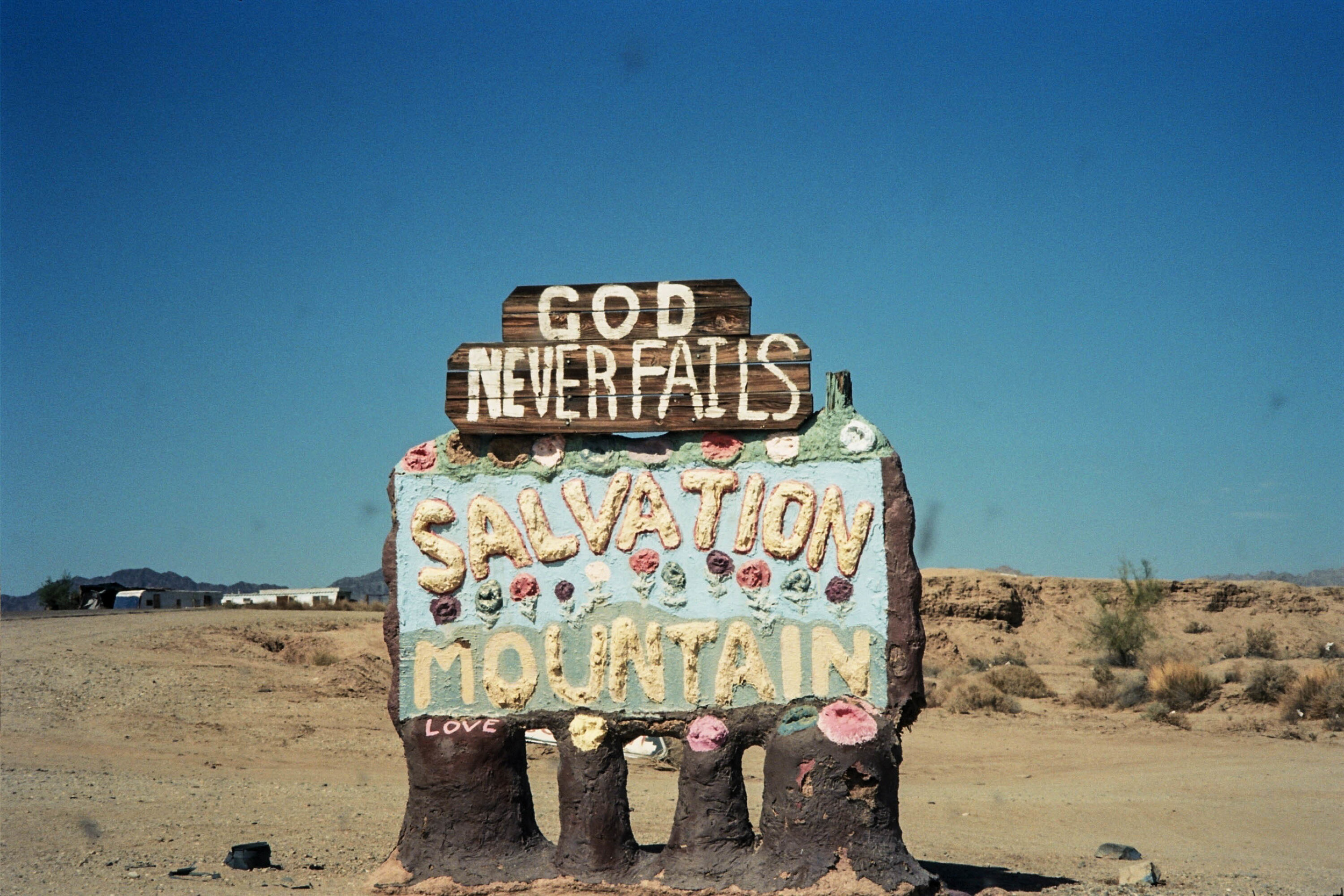 Salvation Mountain, CA