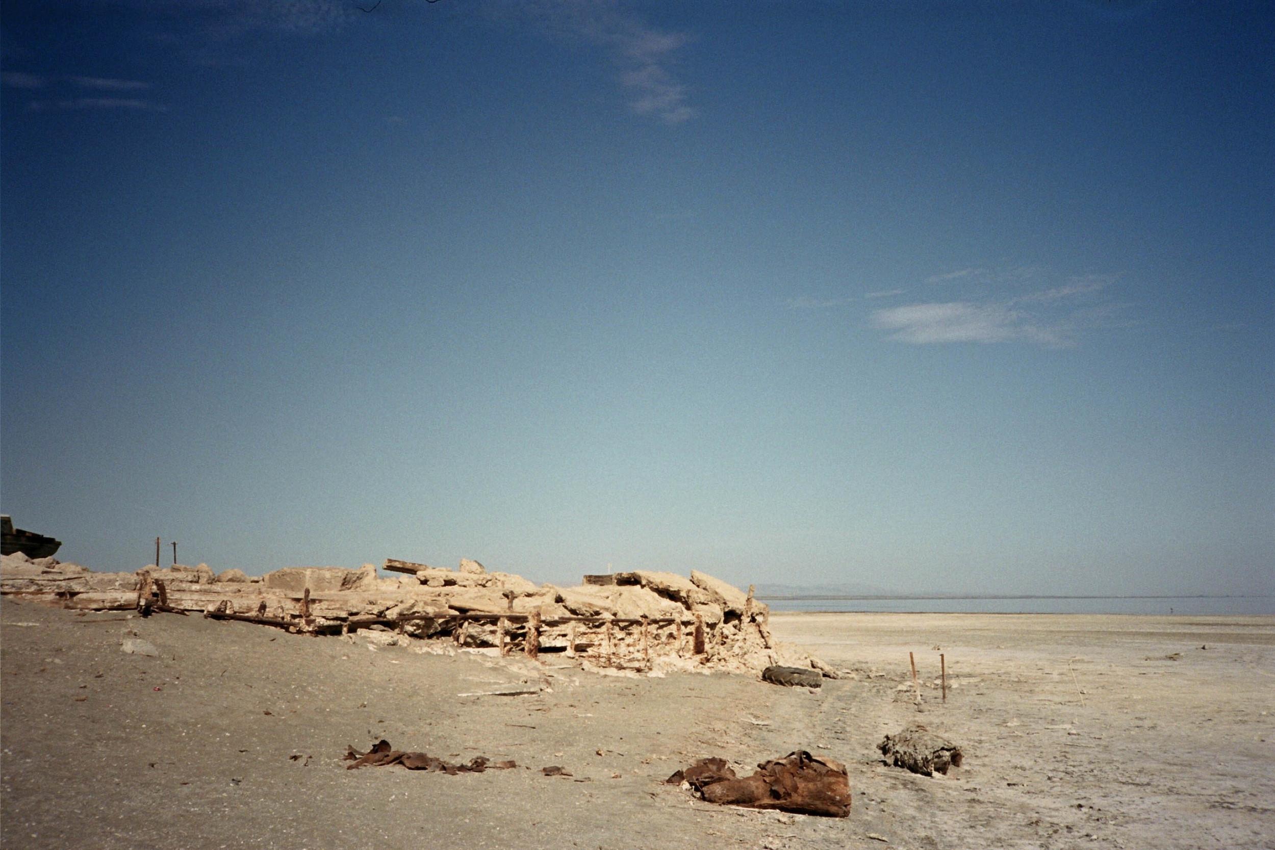 Salton Sea at Bombay Beach, CA