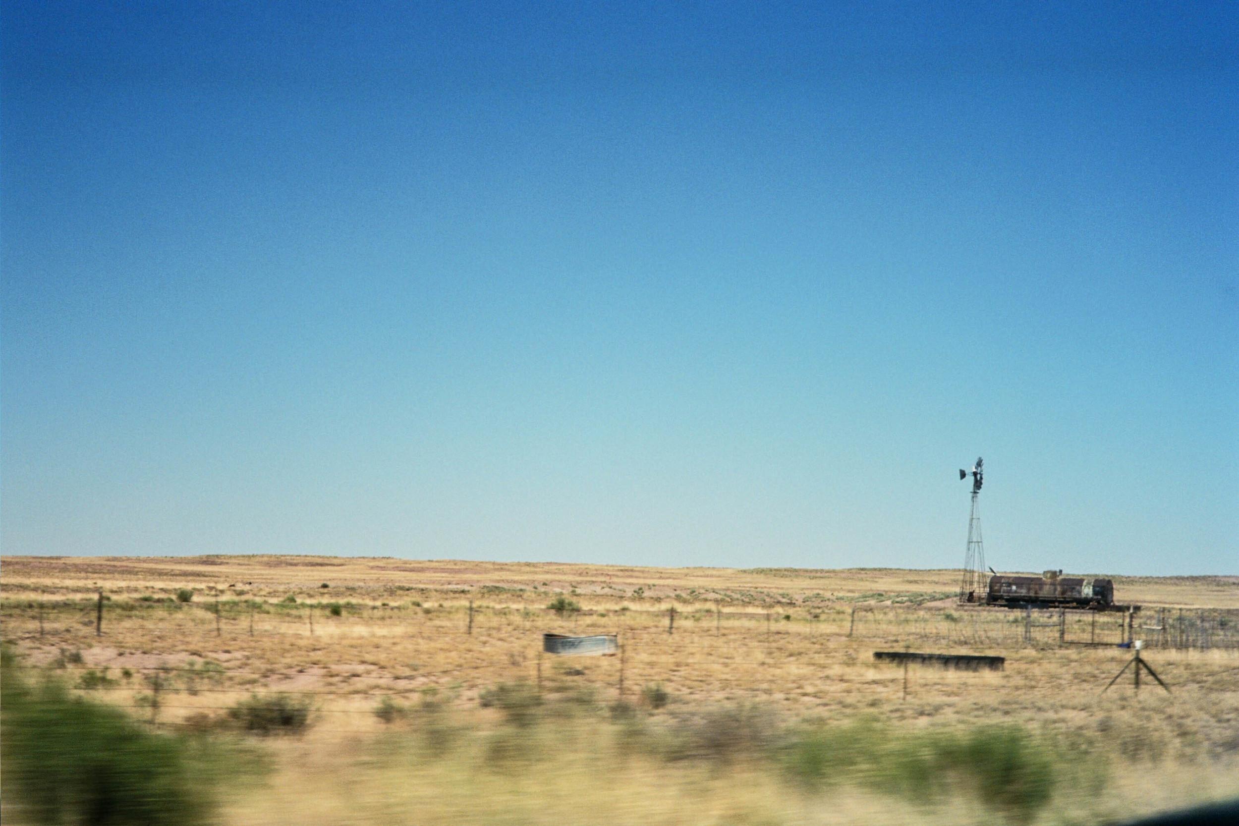 Heading East on the I-40, AZ