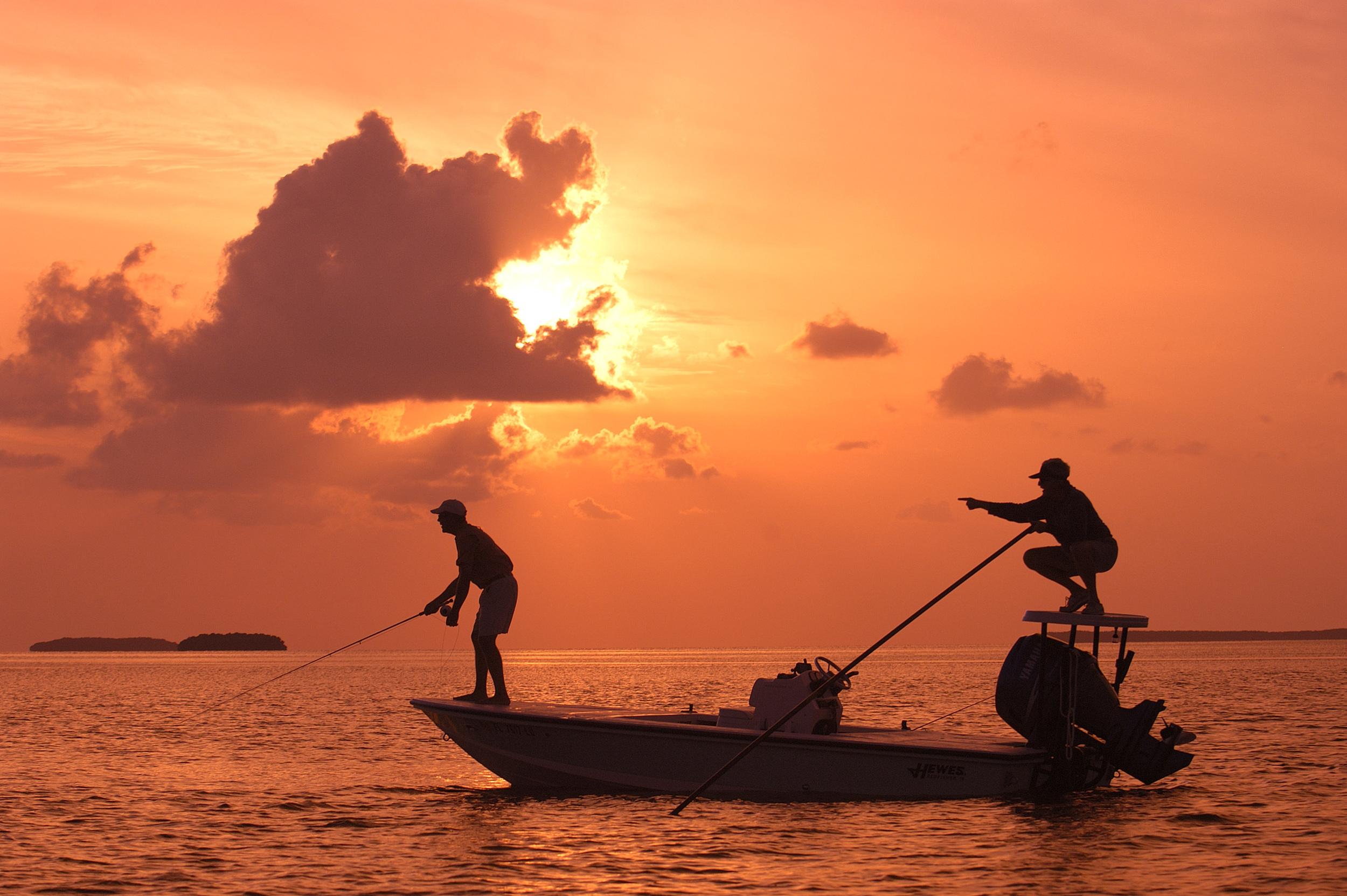 Florida Bay is a world-famous fishing grounds, fished by the likes of Ted Williams and former President George H.W. Bush. Photo by Andy Newman.