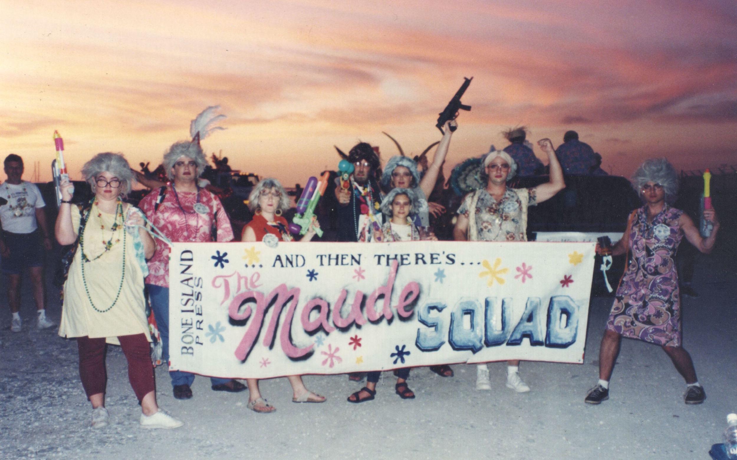 The theme was TV Jeebies. We were the Maude Squad.