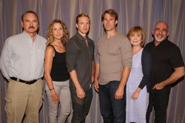 Cast of Stalking the Bogeyman: Murphy Guyer, Kate Levy, Roderick Hill, Erik Heger, Roxanne Hart, John Herrera