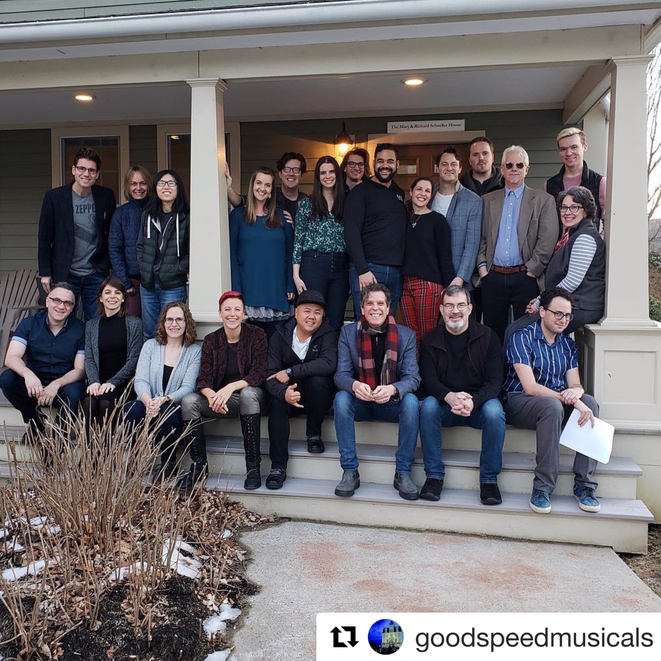 Johnny Mercer Writers Colony at Goodspeed Musicals 2019