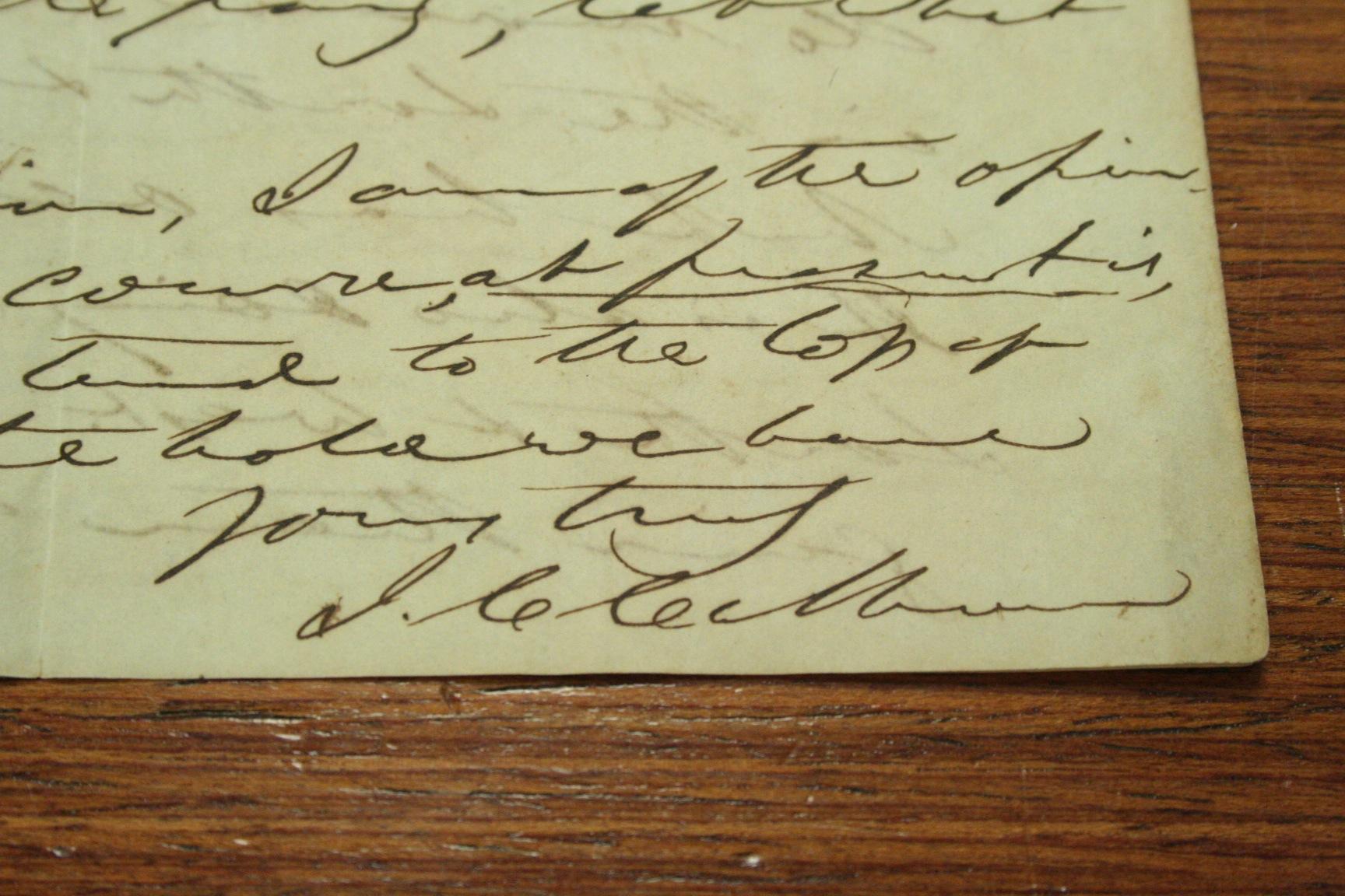 John C. Calhoun Letters