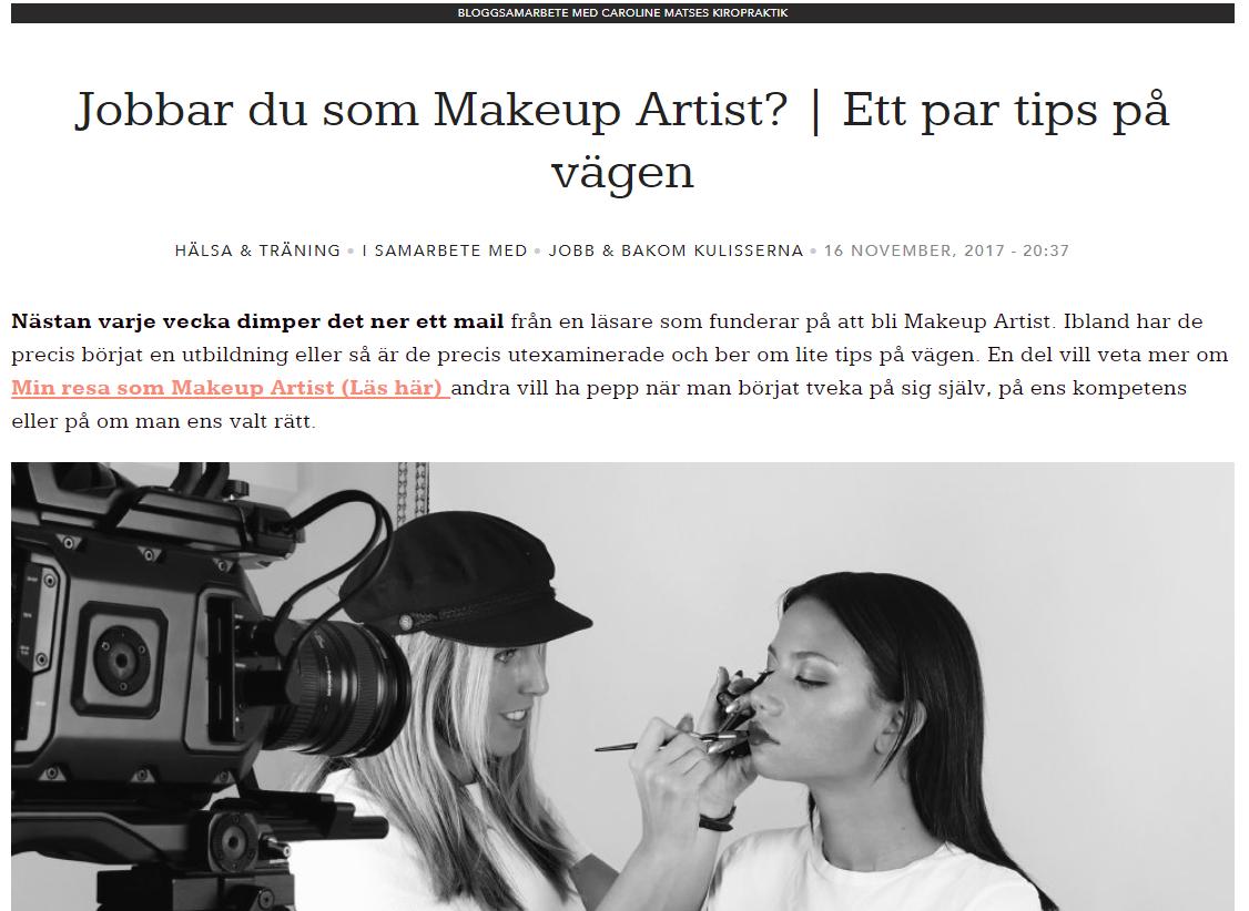 Foto: Lina Ekh, Makeup by Lina