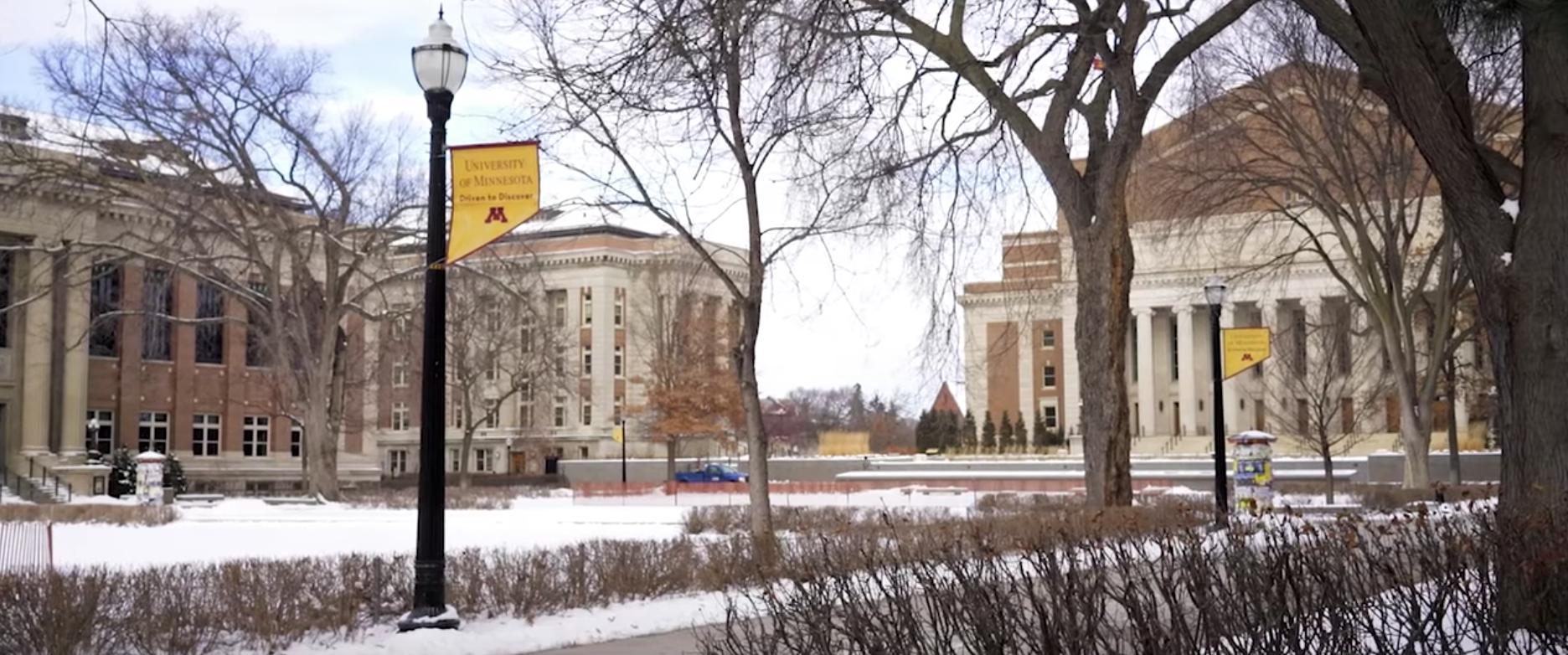 UMN Campus Video feature