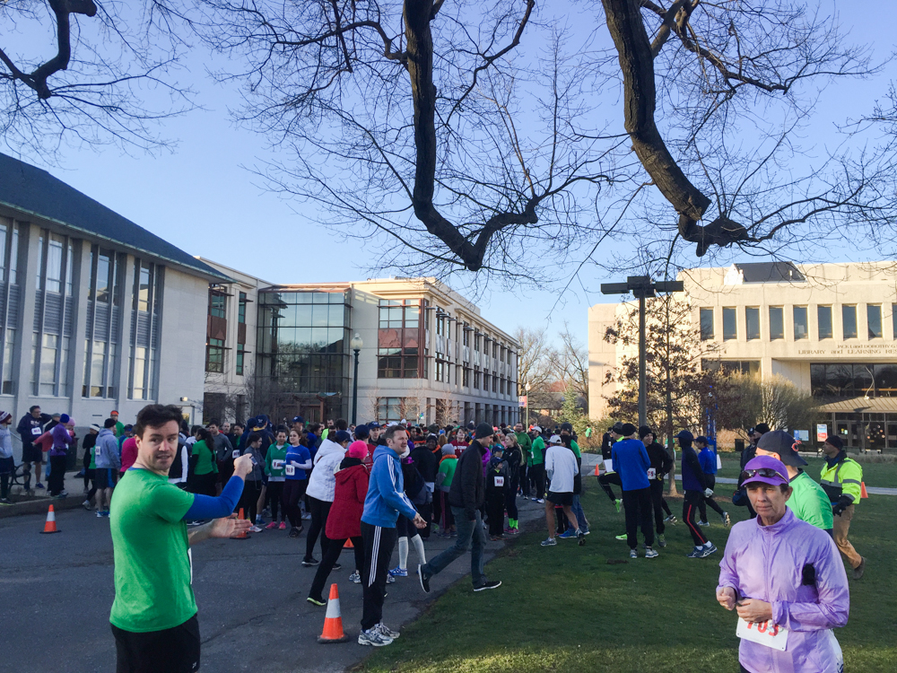 It's running season in DC, so strap on your brightly colored clothes and shoes and get out there!