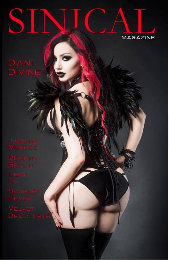 Dani Divine magazine cover
