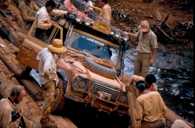 Image courtesy Peter Sweetser, Camel Trophy 89