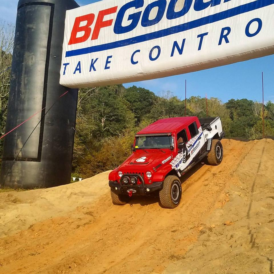The BFGoodrich Team from a previous Expo