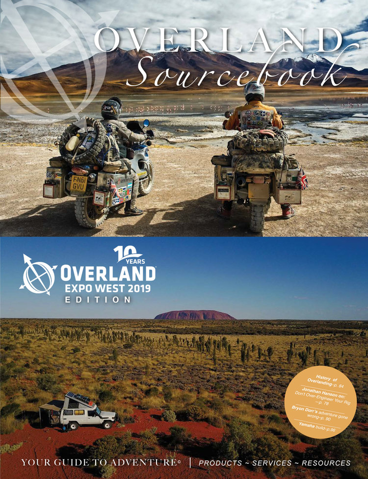 Download past issues of the  Overland Sourcebook .
